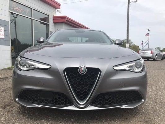 Used Alfa Romeo >> 2018 Alfa Romeo Giulia Alfa Romeo Dealer In Somerset Wi Used